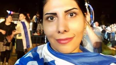 Iraniana à espera de asilo político em Israel