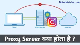 Proxy Server क्या होता है ? पूरी जानकारी हिंदी में।