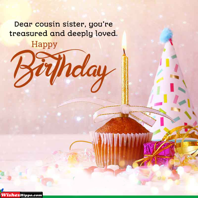 200 Best Happy Birthday Wishes For Cousin Sister Messages Image Wisheshippo
