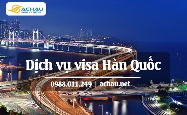 Quy trình làm visa Hàn Quốc