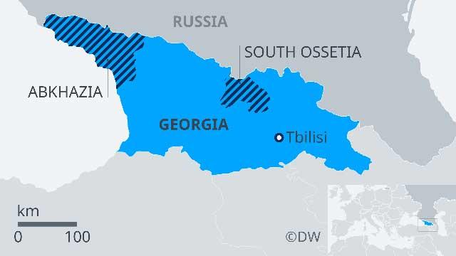 negara Rusia dan Georgia