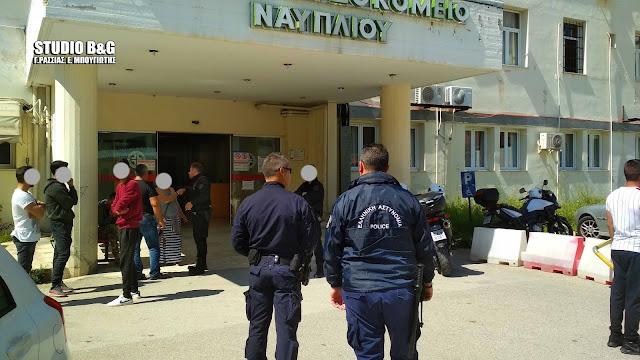 Επεισοδιακή μεταφορά γυναίκας Ρομά με κορωνοϊό στο Νοσοκομείο Ναυπλίου