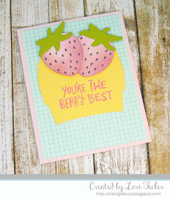 The Berry Best card-designed by Lori Tecler/Inking Aloud-stamps from Reverse Confetti