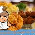 Recette de croquettes de poulet cuites au four (faibles en : matière grasse, sucre, sel)