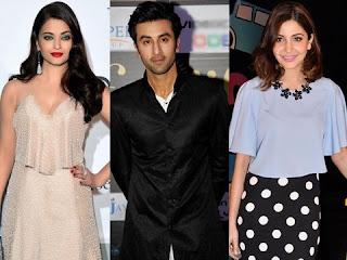 Aishwarya Rai Bachchan, Ranbir Kapoor and Anushka Sharma in 'Ae Dil Hai Mushkil'