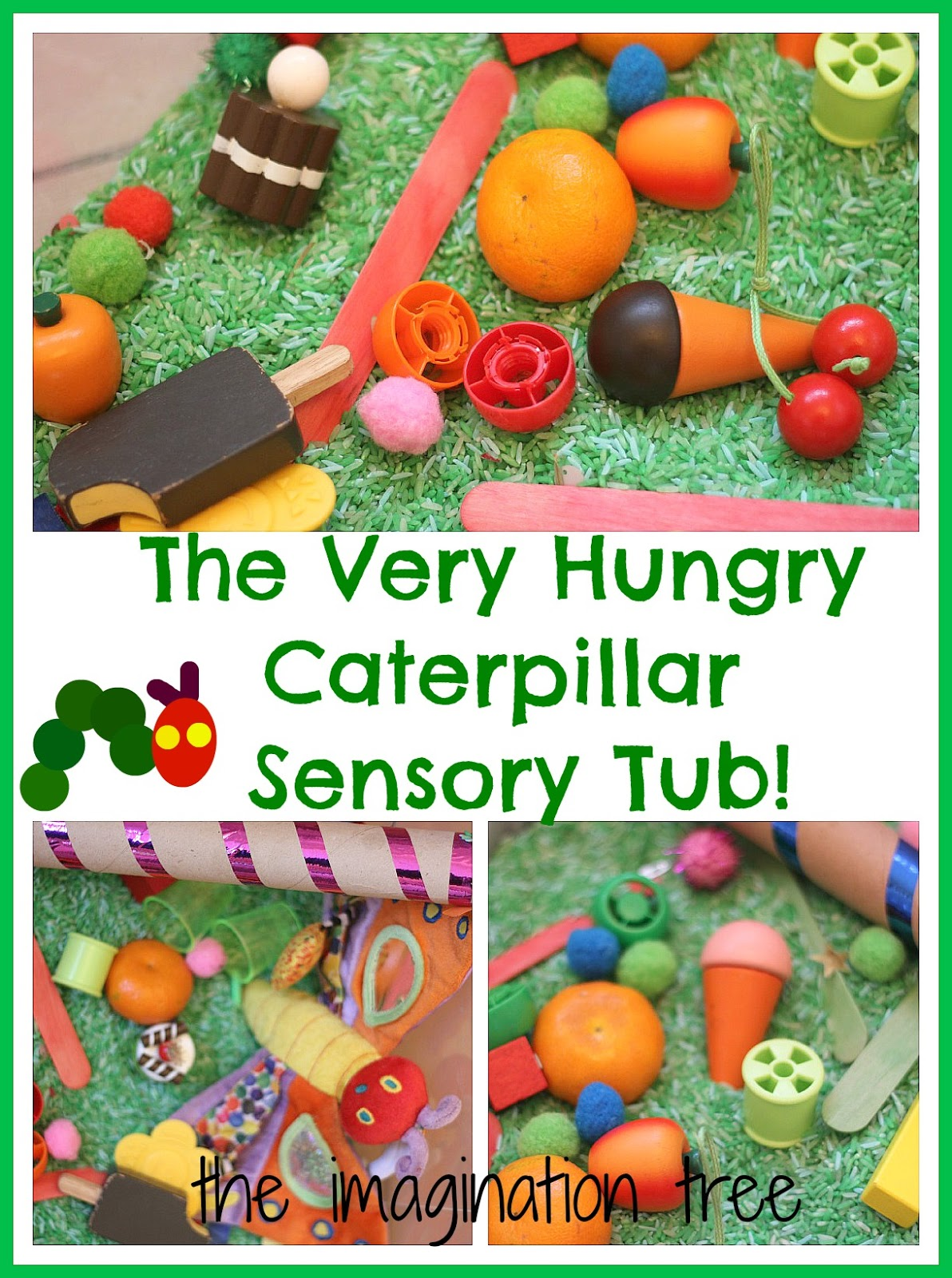 Life More Simply Diy The Very Hungry Caterpillar Day