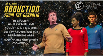 Oakland Symphony: Abduction From the Seraglio Features Michael Morgan, Lynne Morrow & Kevin Thompson Aug. 5, 6, 8 & 9, Holy Names University, Oakland