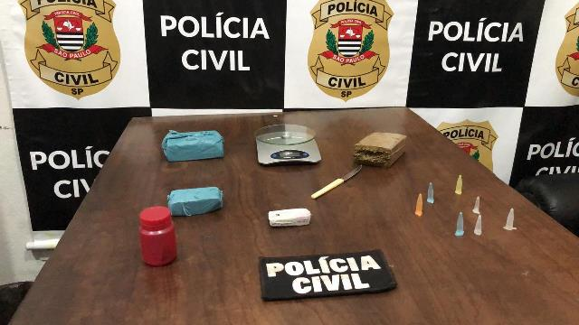 Polícia Civil identifica ponto de tráfico e prende mais dois homens na cidade de Eldorado