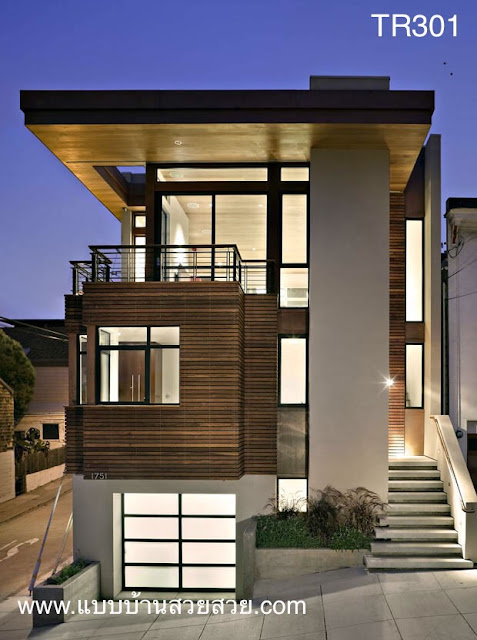 แบบบ้านสวย  บ้าน3ชั้น