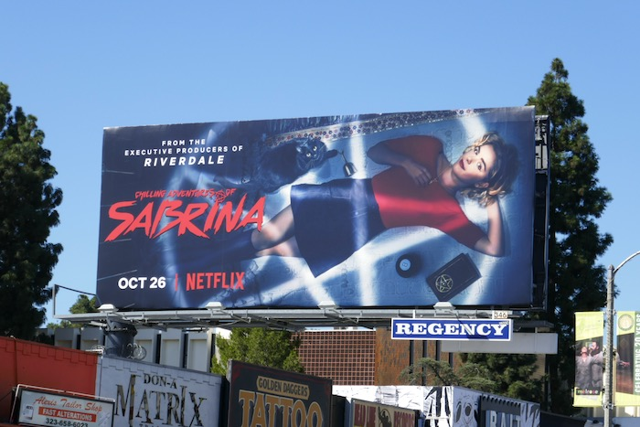 Chilling Adventures of Sabrina billboard