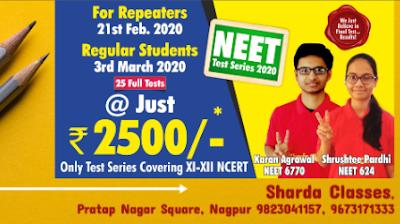 Best NEET Test Series in Nagpur