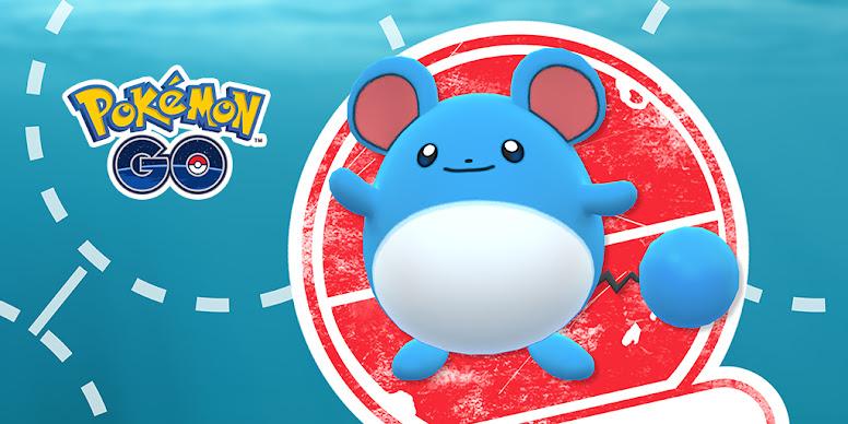Pesquisa Limitada Marill Pokémon GO