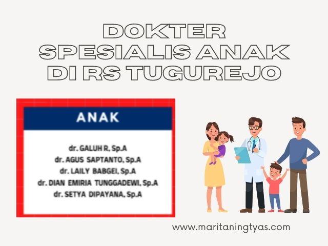 dokter spesialis anak di RS Tugurejo Semarang