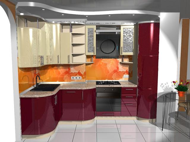 Кухни на заказ фото угловые для маленькой