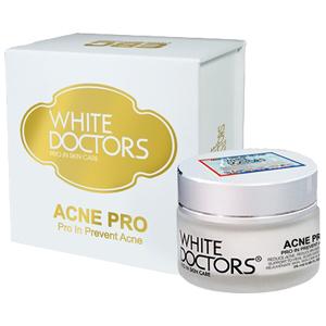 White Doctors AcnePro - Kem trị mụn và sẹo thâm do mụn.