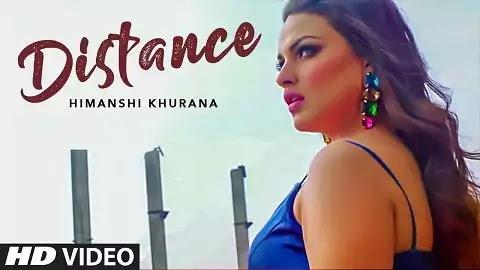 Distance Lyrics in Punjabi | Himashi Khurana | A1laycris