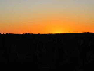 Sunrise In Uluru Australia