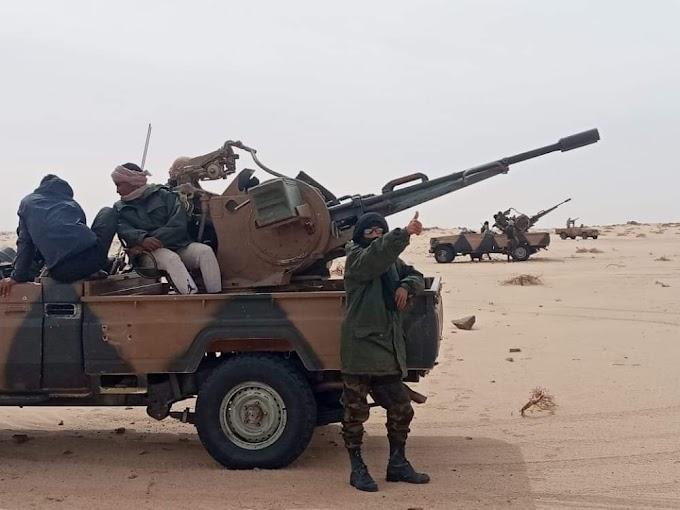 ⭕️ البلاغ العسكري 171 | الجيش الصحراوي يشن غارات جديدة على مواقع عسكرية مغربية بأوسرد، المحبس وحوزة.