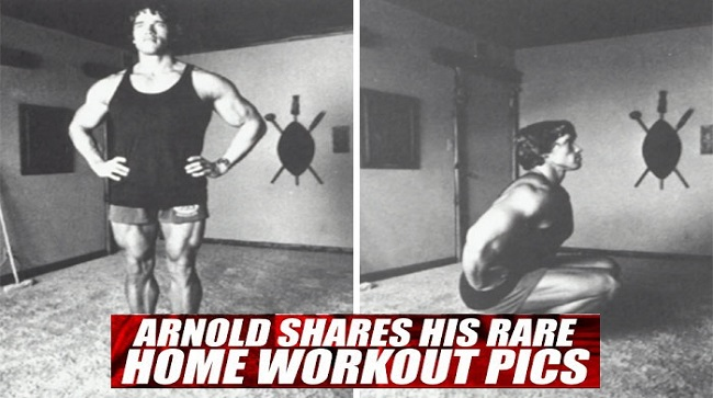 How it was Arnold Schwarzenegger's Home Workout