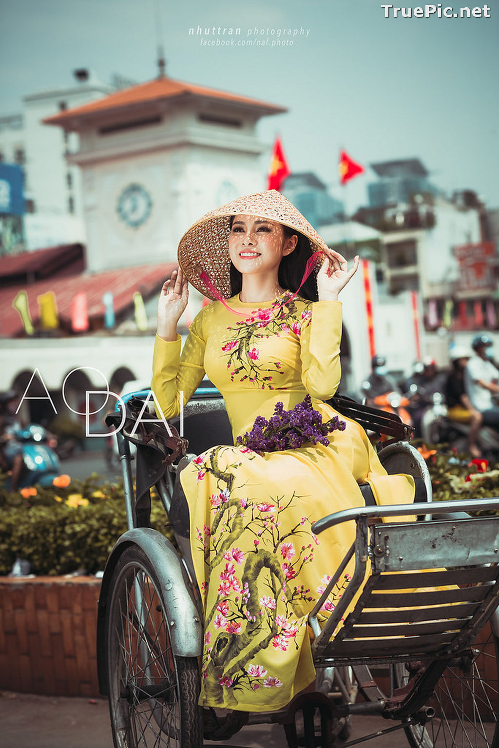 Image The Beauty of Vietnamese Girls with Traditional Dress (Ao Dai) #5 - TruePic.net - Picture-7
