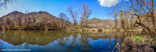 Crna (Black) River, Chebren Monastery, Mariovo, Macedonia