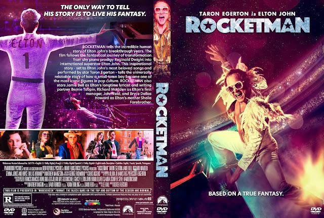 Rocketman DVD Cover