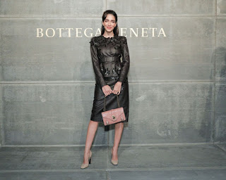 Jessica Kahawaty At Bottega Veneta Show At New York Fashion Week