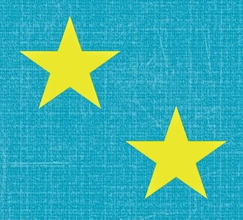 Papeles  de Estrellas sobre Fondo Celeste para imprimir gratis.