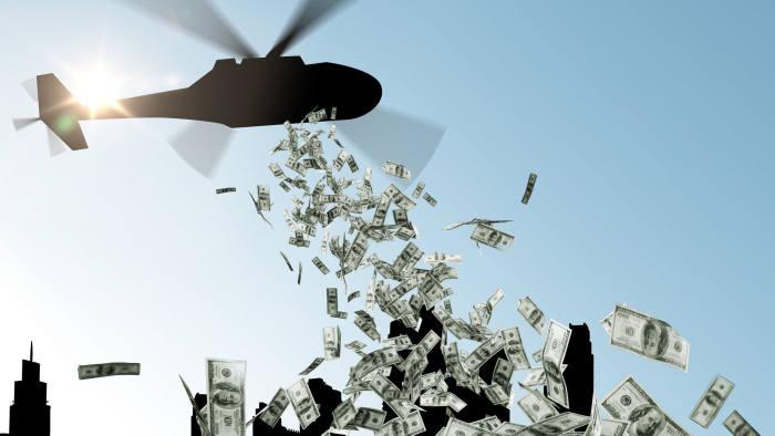 Châu Âu có thể lựa chọn 'trực thăng thả tiền' cho người dân trong lúc khủng hoảng