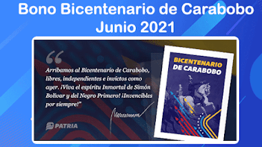 Bono Bicentenario Carabobo comenzó a ser entregado a través del Carnet de la Patria