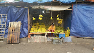 Korail Basti banana vendor