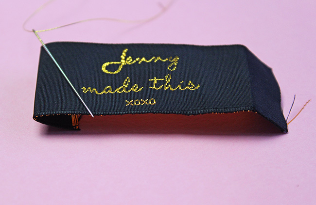 Nominette Sew in Labels - Tilly and the Buttons
