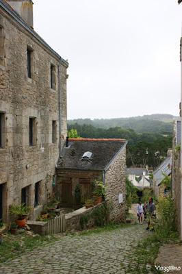 Via acciottolata del villaggio di Pont Croix