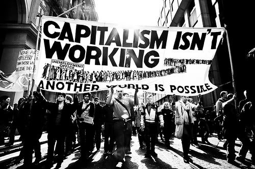 Image result for capitalism kills