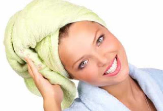 cabello mojado