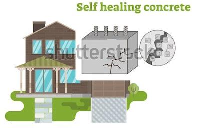 SELF HEALING CONCRETE ( BIO-CONCRETE)