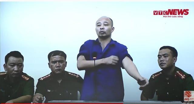 """Clip: Thái độ """"ngổ ngáo"""", thiếu hợp tác của Đường """"Nhuệ"""" tại phiên tòa khiến CĐM bức xúc"""