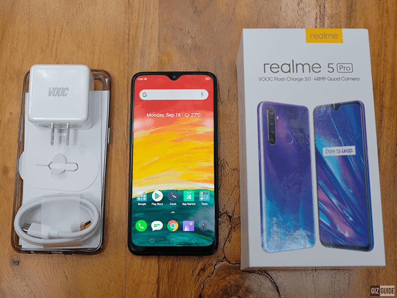 The realme 5 Pro