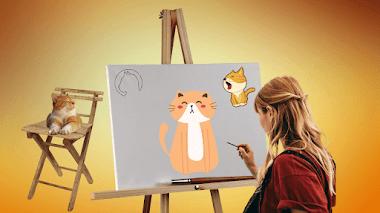 ¿Cómo dibujar un gato?