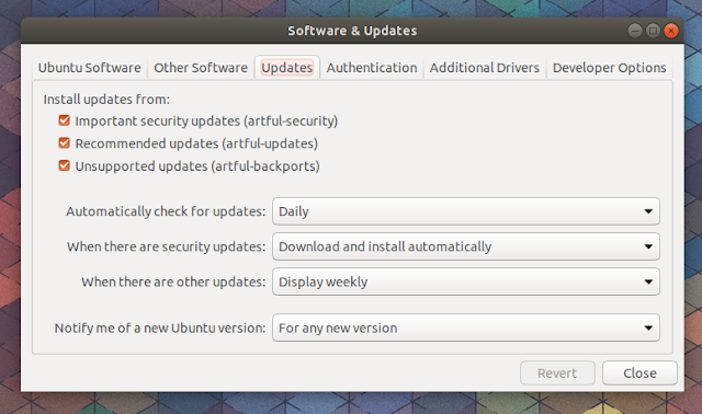 Ubuntu Software Updates