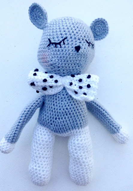 souris tendre crochet
