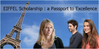 Eiffel Scholarships in France for International Students