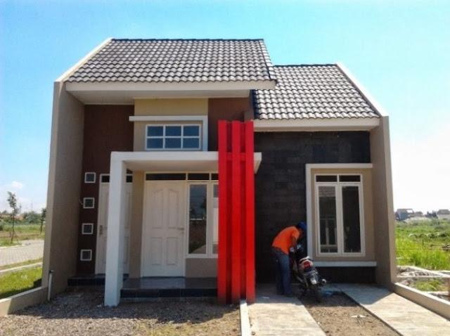 single floor village house design
