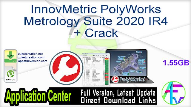 InnovMetric PolyWorks Metrology Suite 2020 IR4 + Crack