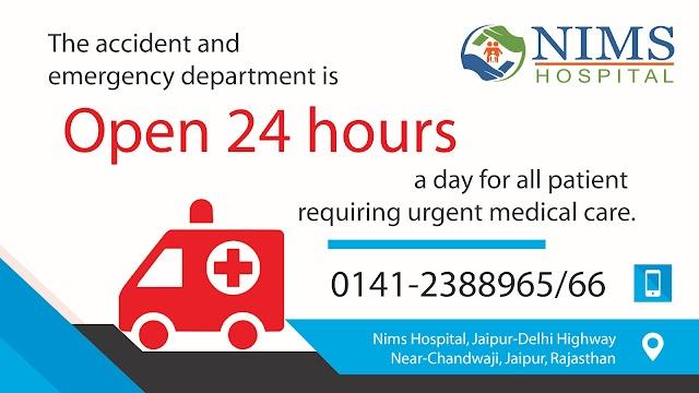 Emergency Services in Jaipur - Nims Hospital