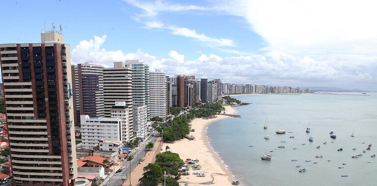 Hoteis na Beira Mar de Fortaleza