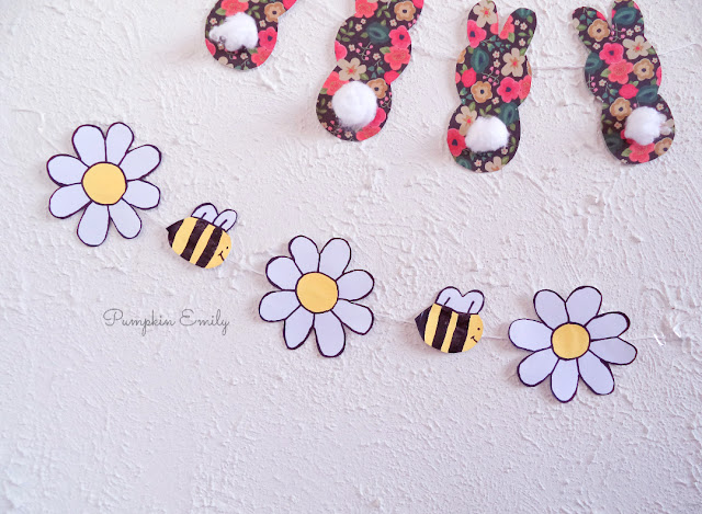 Bee and Flower Garland