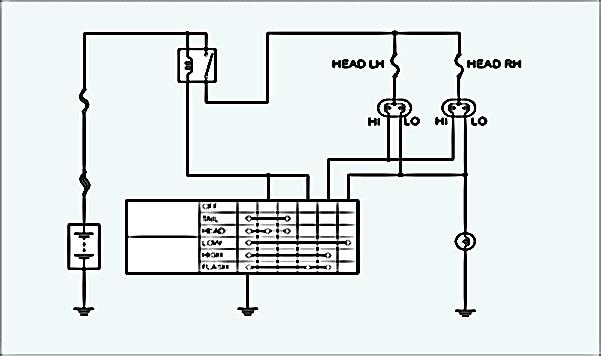 Electrical Wiring Diagram Lampu Kepala For Your Needs