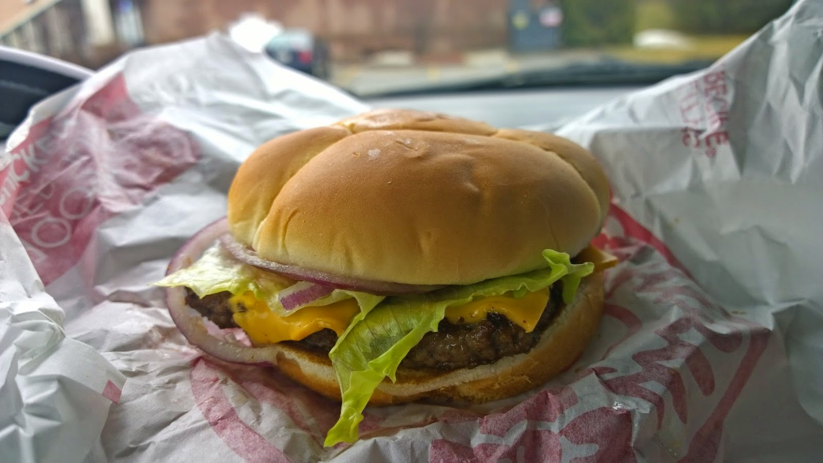 Calorie count wendy's single cheeseburger