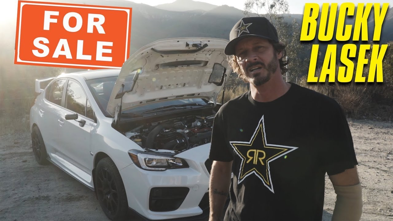 BUCKY LASEK IS SELLING HIS 2016 STI ON THROTL....AND IT\'S SUPER SICK ...